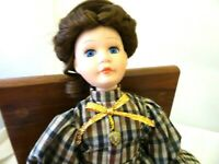 "PORCELAIN 12"" VICTORIAN DOLL NEW CONDITION"