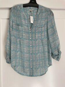 Joie Bonilla silk Blouse  size XS  NWT $268