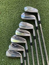 New listing Nice mizuno mp-20 hmb iron set 4-p OBAN Stiff CT-105 Shafts Pured
