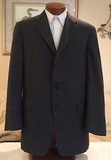 NEW Stunning Mens Hickey Freeman Gray Wool 3 Btn Dual Vent Blazer Sz 42 L