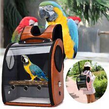 Bird Pet Parrot Backpack Carrier ravel Space Capsule Transparent Travel Handbag