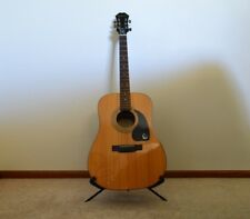EPIPHONE ACOUSTIC GUITAR + SOFT CASE + STAND - EXCELLENT/ NEAR NEW CONDITION