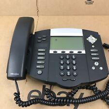 Polycom Soundpoint Ip 550 Poe 2201 12550 001 Phone Business Expandable 8c7