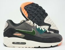 premium selection 15bc7 be93c Nike Air Max 90 Premium SE Mens Running Shoes Oil Grey Rain Forest Size 9