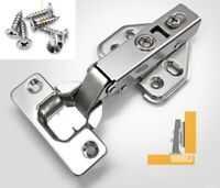 Quality Stainless Steel Soft Close Full Overlay 35mm Hinge Cabinet Cupboard Door