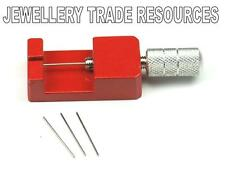 Nuevo Reloj Pulsera Correa de banda de enlace Pin removedor de eliminación de ajuste reparación Herramienta + Pin