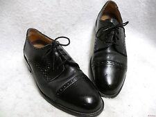 Gran Flex by Emyco Black Leather Cap Toe Oxford 10M EC