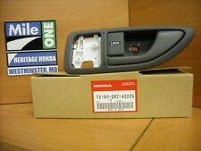 OEM Honda Left Inside Door Handle Fits 1993-1995 Del Sol Gray (Excel Charcoal)