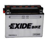 Batterie moto honda Exide Y50-N18L-A / 12v 20ah