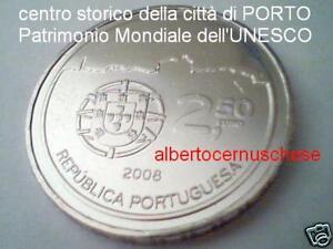 2,5 euro 2008 Portogallo UNESCO Porto Portugal