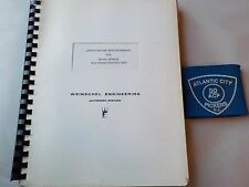 WEINSCHEL MODEL 4310A/K MULTIBAND CONTROL UNIT OPERATION AND SERVICE MANUAL
