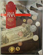 August 1996 ANA Heritage Numismatic Auctions Catalog Denver, Colorado (EW)