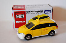 TOMICA Toyota Wish Taxi Taiwan Event Model Limited 1/61 Free Shpping