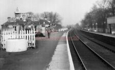 PHOTO  ARTHINGTON RAILWAY STATION LNER 1950'S VIEW FROM TRAIN LEEDS NORTHERN RAI