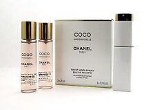 Chanel Coco Mademoiselle Chanel Twist and Spray EDT Purse Spray 3x20ml.(3x0.7oz)
