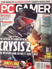 PC Gamer Magazine Crysis  2 Battlefield 3 May 2011 082417nonrh