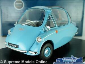 HEINKEL TROJAN MODEL BUBBLE CAR 1:18 SCALE OXFORD 18HE001 ROMAN BLUE 3 WHEEL K8