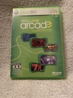 XBOX LIVE ARCADE XBOX 360 MICROSOFT VIDEO GAME COMPILATION DISC No Manual