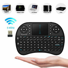 Wireless Mini Keyboard 2.4G w/ Touchpad Handheld Keyboard for PC Android TV SP
