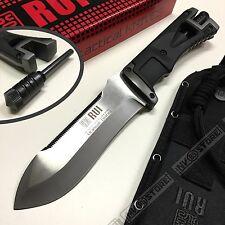 KNIFE COLTELLO CACCIA RUI K25 32070 CON ACCIARINO SURVIVOR SOPRAVVIVENZA RAMBO