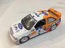 diecast 1/43 wrc Ford escort cosworth Sainz Repsol Rallye Acropolis 97 + box