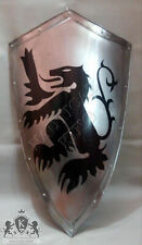 SHIELD 36 INCH STEEL MEDIEVAL Antique KNIGHT Metal Handcrafted GREEK GIFT