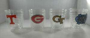 Tervis Tumblers -12 oz Clear - Collegiate Logos - Your Choice - Preowned