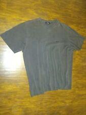 Hugo Boss Men's SS V-Neck T Shirt Faded  Black Design Large L