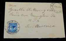 Vintage Cover, FRUMOASA, ROMANIA, To Essington, PA, 1934, King Carol II Letter