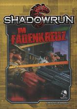 SHADOWRUN-IM FADENKREUZ-Abenteuerband-Cyber Rollenspiel-(SC)-neu-Out of Print