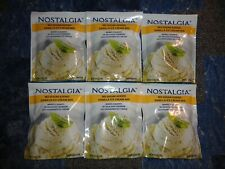 Lot of 6 Nostalgia No Sugar Added Vanilla Mix Make With Rival Ice Cream Makers