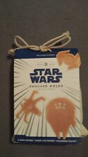 Williams Sonoma Star Wars 3 Piece Pancake Mold Set X Wing, Falcon, Tie Fighter