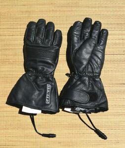 Gerbing Black Heated Gloves - Motorcycle Snowmobile ATV - Men's SMALL 7V