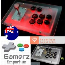 Arcade transparent Fighting Stick Joystick acrylic Kit PC Mac Hyperspin Android