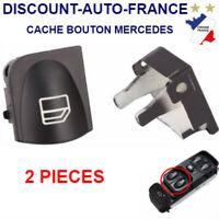 Bouton de Lève Vitre avant gauche A2038210679 - 2038200110 - 2 x cache bouton