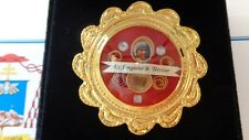 Reliquary relic of Mother Teresa with COA rare with wax seal limited addition.