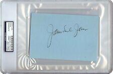 James Earl Jones Signed Autographed 4X6 Index Card 1971 Vintage Auto PSA/DNA