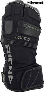 Richa Nordic 3 Finger Gore-Tex GTX Waterproof Motorcycle Gloves - Black