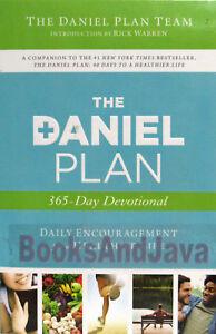 The Daniel Plan 365 Day Devotional by Daniel Plan Team, Rick Warren (Paperback)
