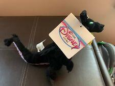 "Vintage Disney Sleeping Beauty Dragon 7"" Mini Bean Bag Plush malefasent dragon"