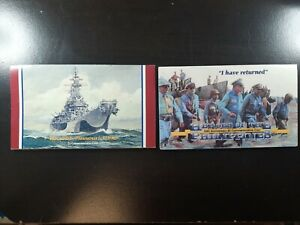 1994 $5 Heroes of the Philippines The USS Missouri Commemorative Coins Lot of 2