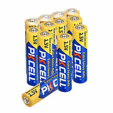 PKCELL 12pcs AAA Alkaline Battery 1.5V R03P UM4 Single Use Dry Batteries For Toy