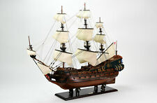 "Friedrich Wilhelm 37"" Handcrafted Wooden Tall Ship Model Scale 1:85"