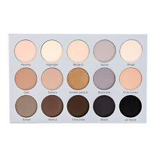 Kara Beauty ES23 15 Color Smoky Sand Eyeshadow Palette Shimmer Matte Highlight