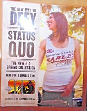 """Harley-Davidson Spring Clothing 110 Showroom Poster, 28"""" x 22"""" Double-Sided"""