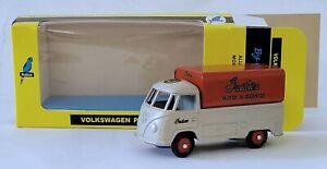 Budgie Diecast Models 204 T2 VW SINGLE CAB PICK UP 1:43 INDIAN MOTORCYCLE MIB