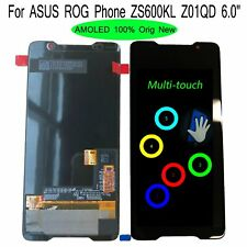 """100% Original New 6.0"""" For ASUS ROG Phone ZS600KL Z01QD LCD Display Touch Screen"""