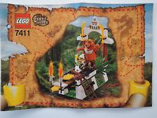 Lego Orient Expedition 7411 tygurah's Roar rodamient. + ba + figuras mercancía nueva Top