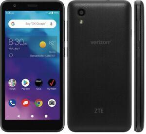 ZTE Blade Vantage | 16GB | Verizon Prepaid ONLY Single SIM Black SEALED - Black