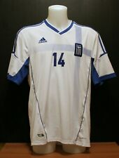 Greece Adidas Home Shirt Euro 2012 XXL Very Good Condition